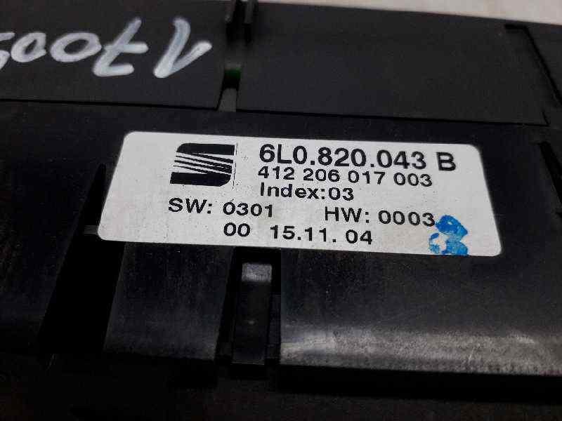 MANDO CLIMATIZADOR SEAT IBIZA (6L1) Cool  1.9 SDI (64 CV) |   05.04 - 12.05_img_2