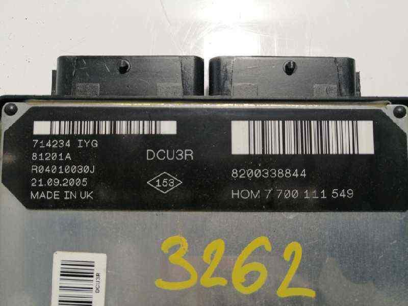 CENTRALITA MOTOR UCE RENAULT KANGOO (F/KC0) Authentique  1.9 Diesel (64 CV) |   03.03 - 12.07_img_2