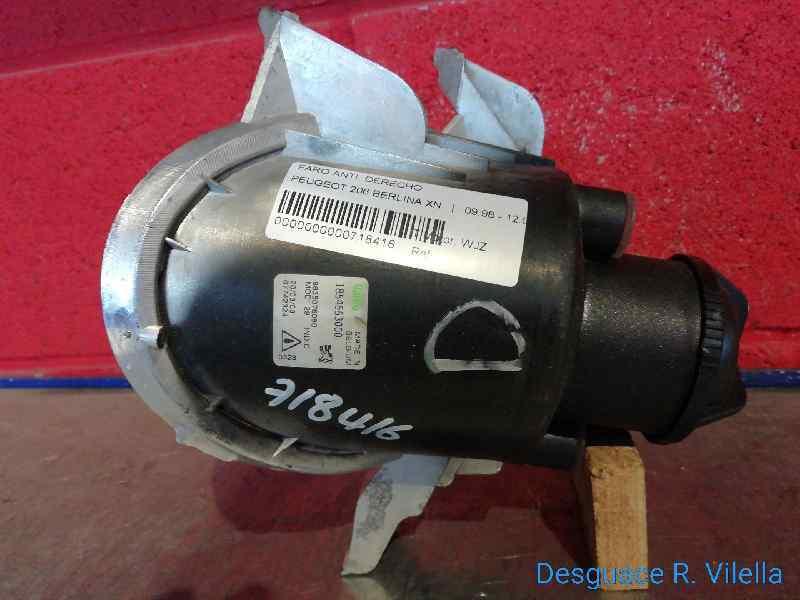 FARO ANTINIEBLA DERECHO PEUGEOT 206 BERLINA XN  1.9 Diesel (69 CV) |   09.98 - 12.02_img_3
