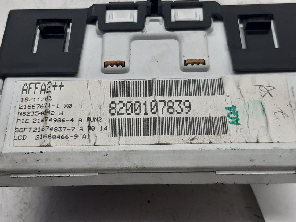PANTALLA MULTIFUNCION RENAULT MEGANE II BERLINA 3P Confort Authentique  1.4 16V (98 CV) |   07.02 - 12.06_img_2