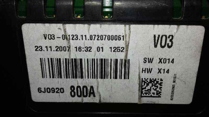 CUADRO INSTRUMENTOS SEAT IBIZA (6L1) *       0.01 - 0.09_img_1