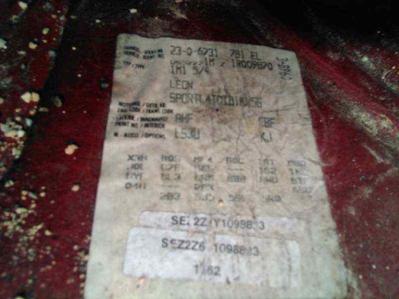 SEAT LEON (1M1) Signo  1.9 TDI (110 CV) |   11.99 - 12.04_img_4