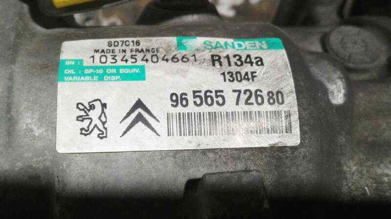 COMPRESOR AIRE ACONDICIONADO PEUGEOT 407 ST Confort  1.6 HDi FAP CAT (9HZ / DV6TED4) (109 CV) |   05.04 - 12.07_img_1