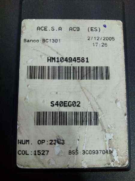 CAJA RELES / FUSIBLES SEAT LEON (1P1) Comfort Limited  1.9 TDI (105 CV) |   04.07 - ..._img_2