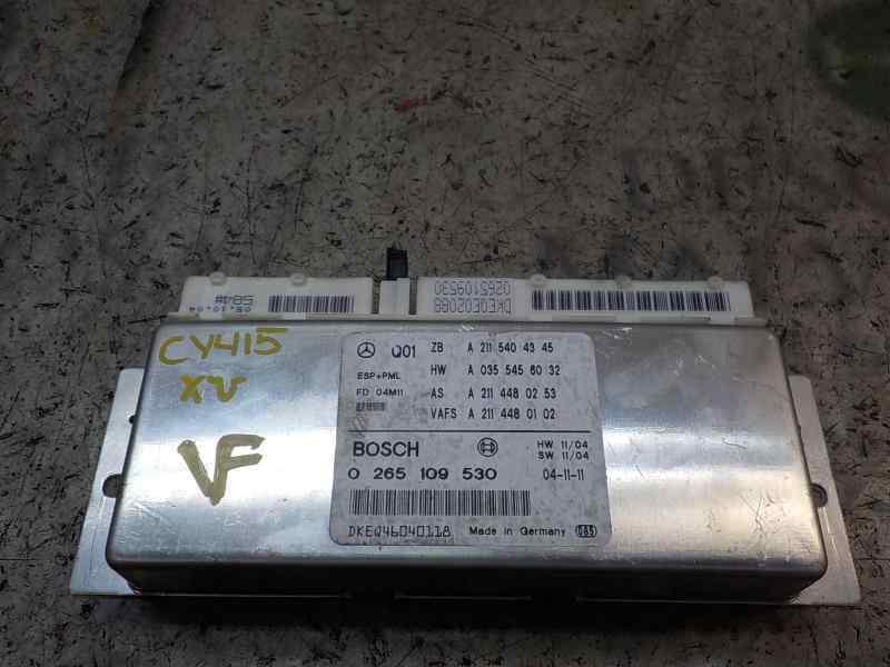 MODULO ELECTRONICO MERCEDES CLASE E (W211) BERLINA E 350 (211.056)  3.5 V6 CAT (272 CV) |   10.04 - 12.09_img_0