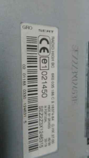SISTEMA AUDIO / RADIO CD SEAT CORDOBA BERLINA (6K2) Sport  1.9 TDI (110 CV) |   08.99 - 12.03_img_3