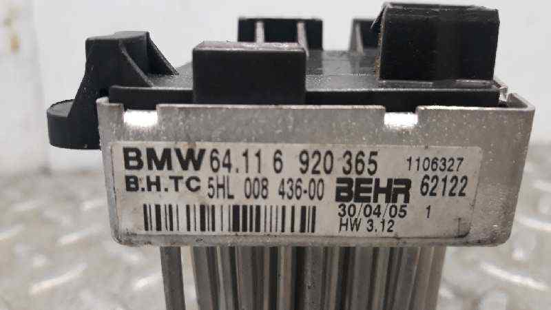 RESISTENCIA CALEFACCION BMW SERIE X3 (E83) 3.0d   (204 CV) |   09.03 - 12.06_img_2