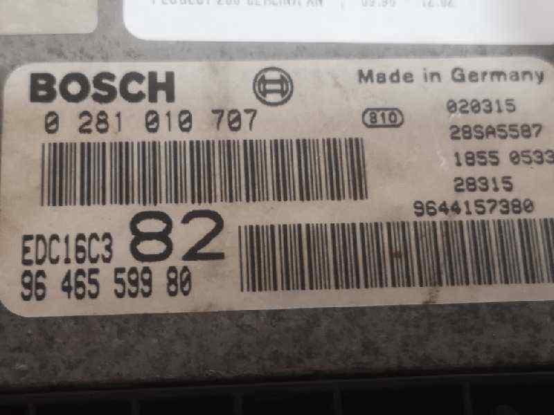 CENTRALITA MOTOR UCE PEUGEOT 206 BERLINA XN  1.4 HDi (68 CV) |   09.98 - 12.02_img_1