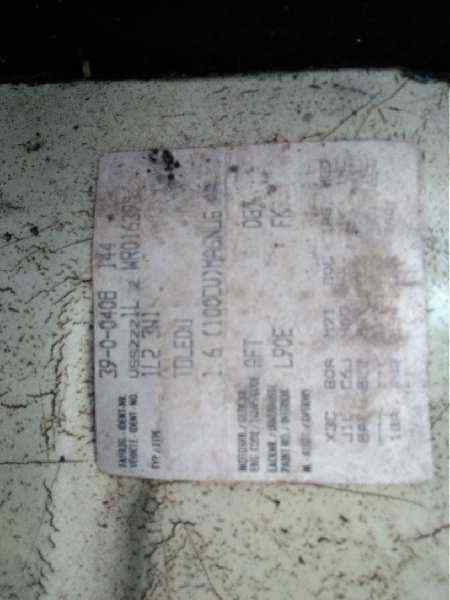 SEAT TOLEDO (1L) SE  1.6  (101 CV) |   08.95 - 12.97_img_4