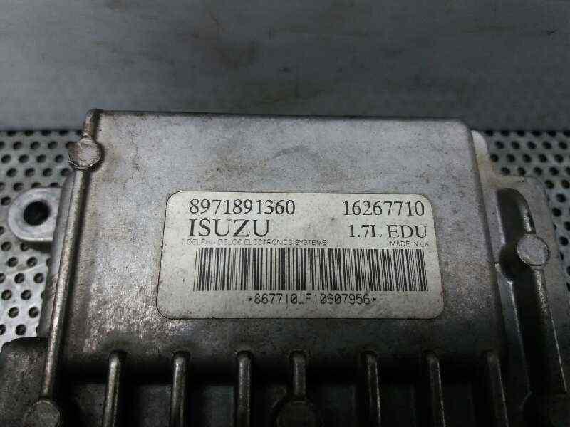 CENTRALITA MOTOR UCE OPEL ASTRA G BERLINA Club  1.7 16V DTI CAT (Y 17 DT / LR6) (75 CV)     12.99 - 12.03_img_5
