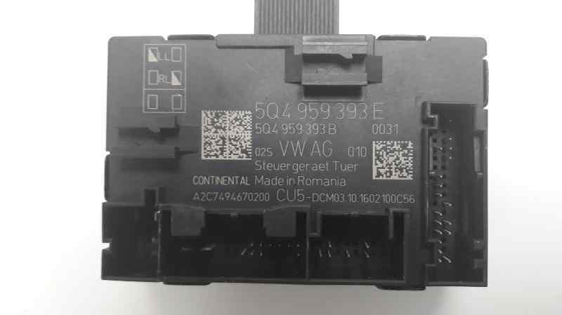 MODULO CONFORT VOLKSWAGEN GOLF VII SPORTSVAN Advance BlueMotion Tech  1.6 16V TDI DPF (110 CV) |   05.14 - 12.15_img_1
