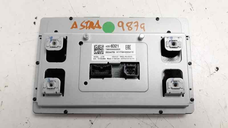 SISTEMA AUDIO / RADIO CD OPEL ASTRA K LIM. 5TÜRIG (09.2015->) Selective Start/Stop  1.4 16V SIDI Turbo (125 CV) |   ..._img_4