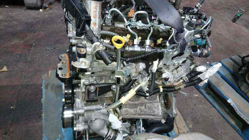 MOTOR COMPLETO TOYOTA YARIS Active  1.4 Turbodiesel CAT (90 CV) |   11.08 - 12.09_img_3