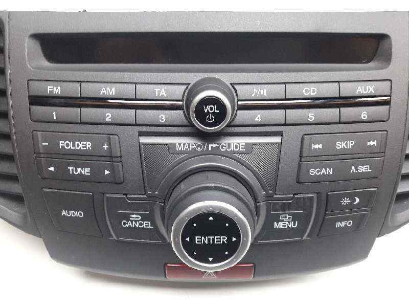 SISTEMA AUDIO / RADIO CD HONDA ACCORD TOURER (CW) Luxury  2.2 DTEC CAT (150 CV) |   09.08 - 12.15_img_1