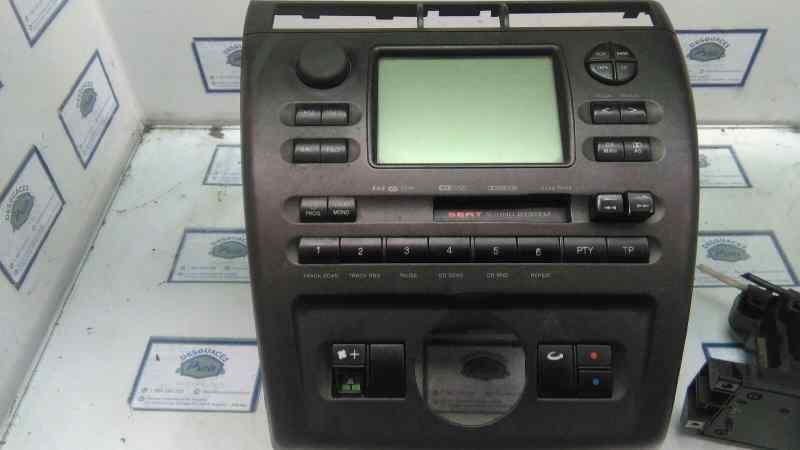 SISTEMA AUDIO / RADIO CD SEAT CORDOBA BERLINA (6K2) Sport  1.9 TDI (110 CV) |   08.99 - 12.03_img_1