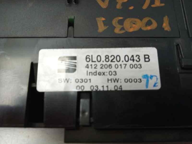 MANDO CLIMATIZADOR SEAT IBIZA (6L1) Vision  1.9 TDI (101 CV) |   04.02 - 12.05_img_2