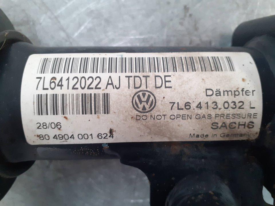 AMORTIGUADOR DELANTERO DERECHO VOLKSWAGEN TOUAREG (7L6) V6 TDI  3.0 V6 TDI DPF (224 CV) |   12.06 - 12.08_img_1