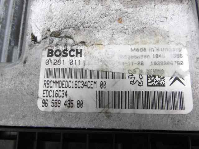 CENTRALITA MOTOR UCE CITROEN C4 BERLINA SX  1.6 16V HDi (90 CV) |   06.04 - 12.06_img_2