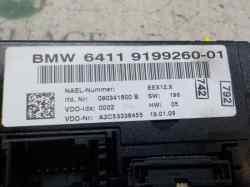 MANDO CLIMATIZADOR BMW SERIE 1 BERLINA (E81/E87) 118d  2.0 Turbodiesel CAT (143 CV)     03.07 - 12.12_mini_4