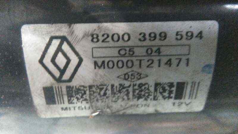 MOTOR ARRANQUE RENAULT SCENIC II Grand Confort Dynamique  1.5 dCi Diesel (106 CV) |   04.04 - 12.06_img_1