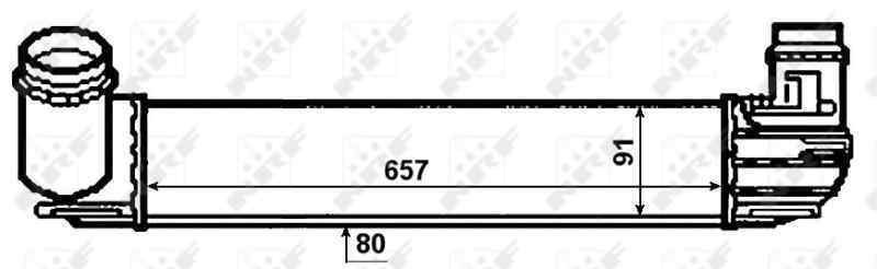 INTERCOOLER RENAULT MEGANE III BERLINA 5 P Expression  1.5 dCi Diesel FAP (110 CV)     05.10 - 12.15_img_2