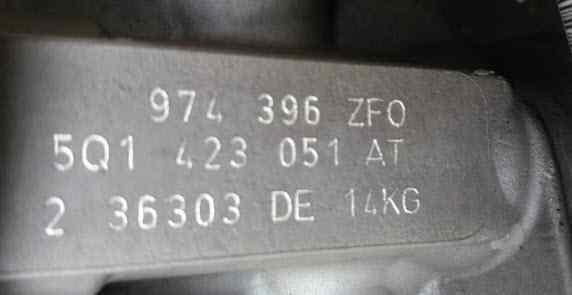 CREMALLERA DIRECCION VOLKSWAGEN GOLF VII SPORTSVAN Advance BlueMotion Tech  1.6 16V TDI DPF (110 CV) |   05.14 - 12.15_img_1
