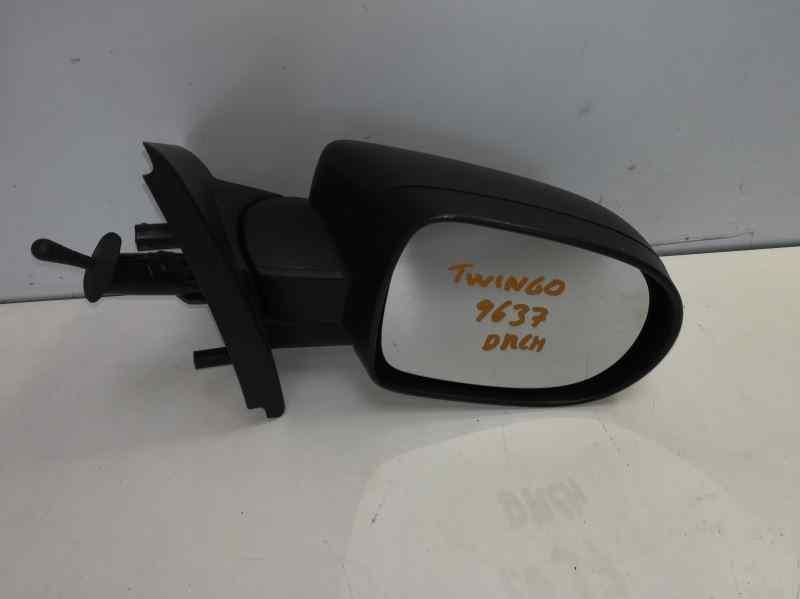 RETROVISOR DERECHO RENAULT TWINGO Authentique  1.2 16V (75 CV) |   12.09 - 12.11_img_1