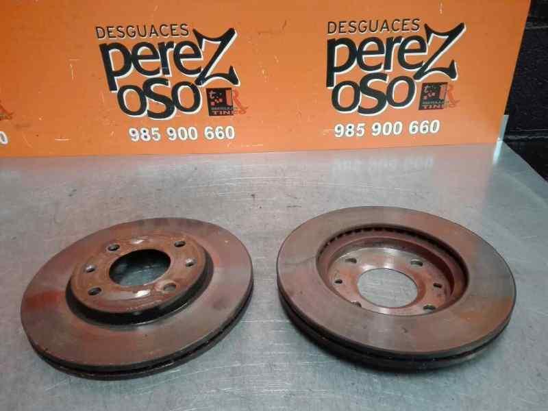DISCO FRENO DELANTERO  PEUGEOT 206 BERLINA XR  1.9 Diesel (69 CV) |   06.98 - 12.02_img_0