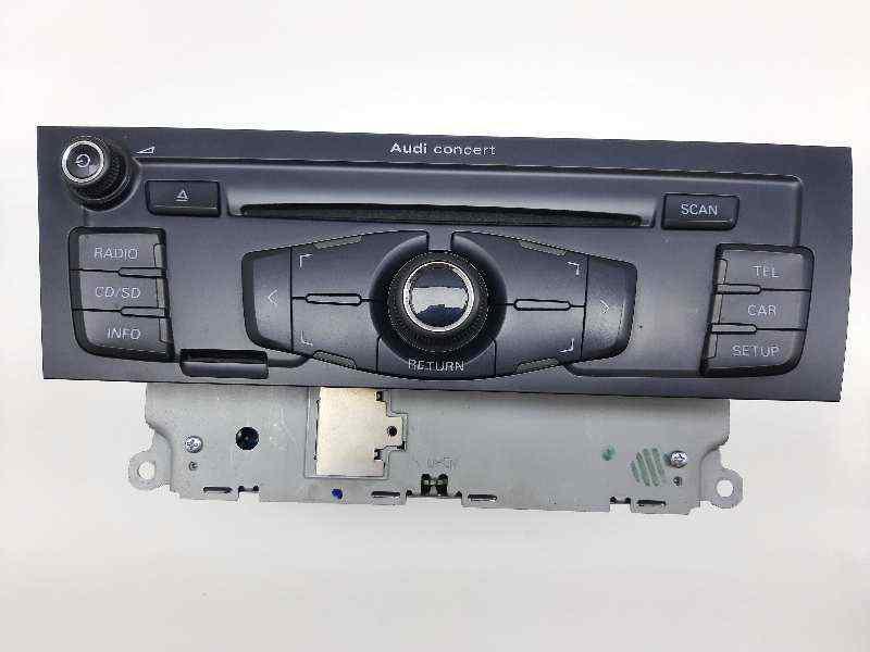 SISTEMA AUDIO / RADIO CD AUDI A4 BER. (B8) Básico  2.0 16V TDI (143 CV)     11.07 - 12.13_img_0