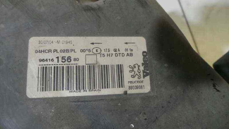 FARO DERECHO PEUGEOT 307 BREAK / SW (S1) BREAK XS  1.6 HDi (109 CV) |   06.04 - 12.05_img_1