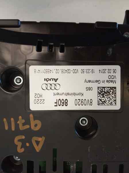 CUADRO INSTRUMENTOS AUDI A3 SPORTBACK (8VA) Attraction  2.0 16V TDI (150 CV) |   10.12 - 12.15_img_3