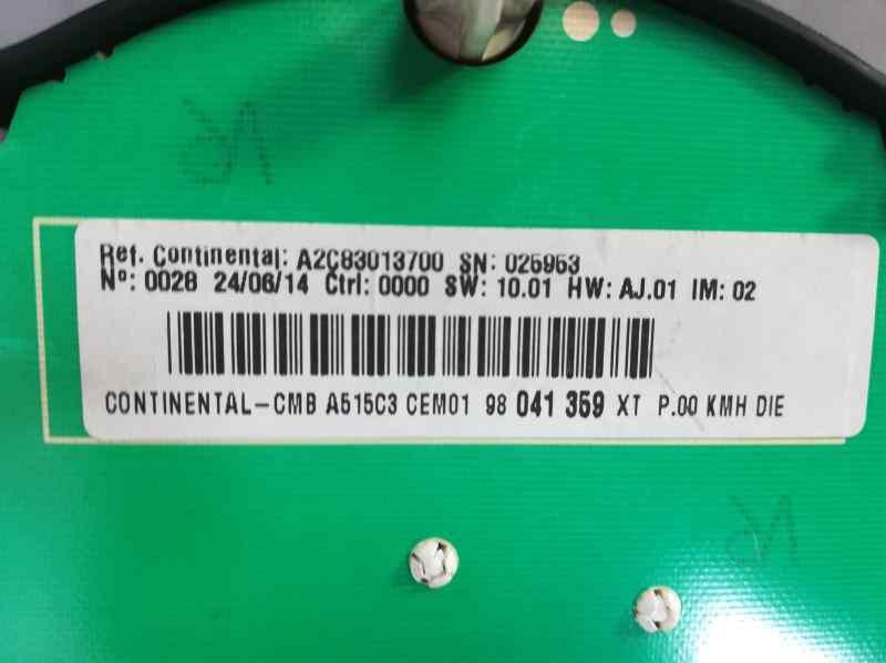 CUADRO INSTRUMENTOS CITROEN DS3 Techno Style  1.6 e-HDi FAP (92 CV) |   07.14 - 12.15_img_2