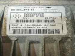centralita motor uce renault clio iii confort expression  1.5 dci diesel cat (86 cv) 2005-2006 8200399038