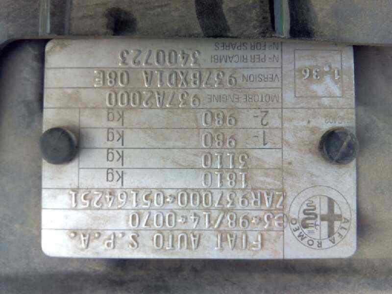 ALETA DELANTERA IZQUIERDA ALFA ROMEO 147 (190) 1.9 JTD Impression   (116 CV) |   05.03 - 12.04_img_1