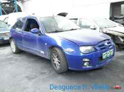 MG ROVER MG ZR (F/RF) 1.4 16V CAT