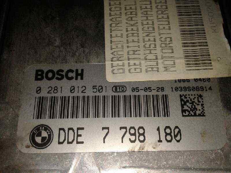 CENTRALITA MOTOR UCE BMW SERIE 3 BERLINA (E90) 320d  2.0 16V Diesel (163 CV) |   12.04 - 12.07_img_3