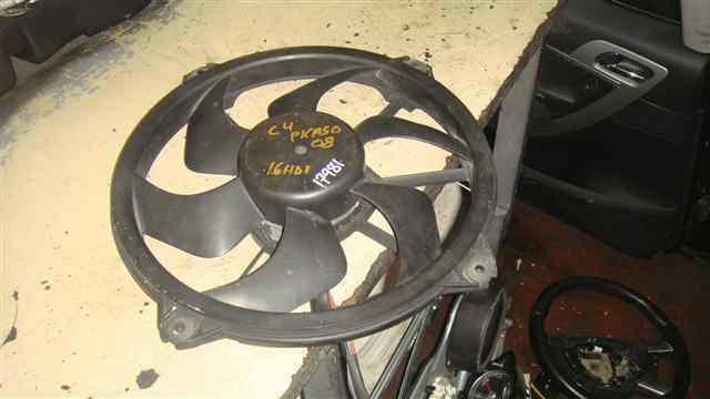 Electroventilador radiador aire acondicionado CITROËN C4
