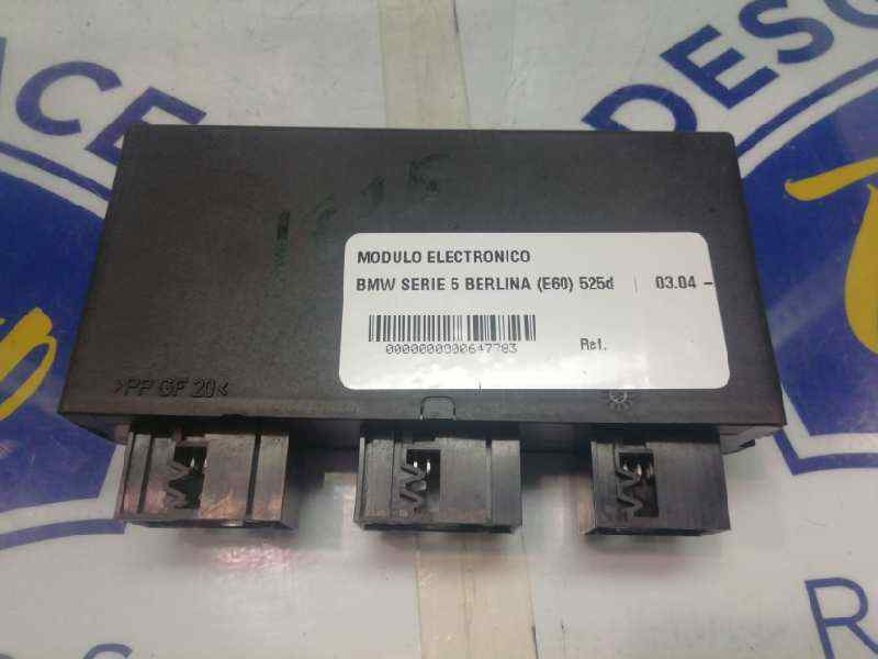 MODULO ELECTRONICO BMW SERIE 5 BERLINA (E60) 525d  2.5 24V Turbodiesel CAT (177 CV)     03.04 - 12.07_img_1