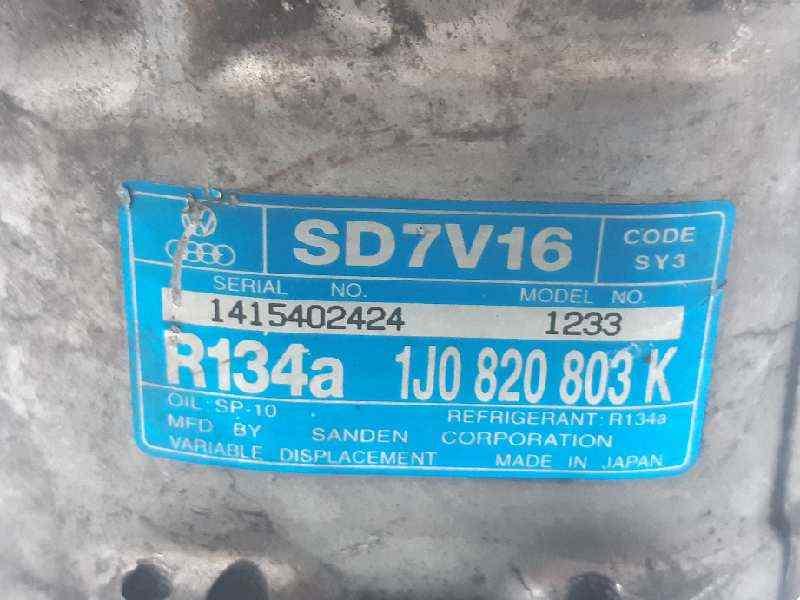 COMPRESOR AIRE ACONDICIONADO VOLKSWAGEN BORA BERLINA (1J2) Conceptline  1.6 16V (105 CV)     05.00 - 12.05_img_3
