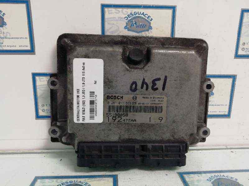 CENTRALITA MOTOR UCE FIAT STILO (192) 1.9 JTD / 1.9 JTD 115 Active   (116 CV)     09.01 - 12.03_img_0