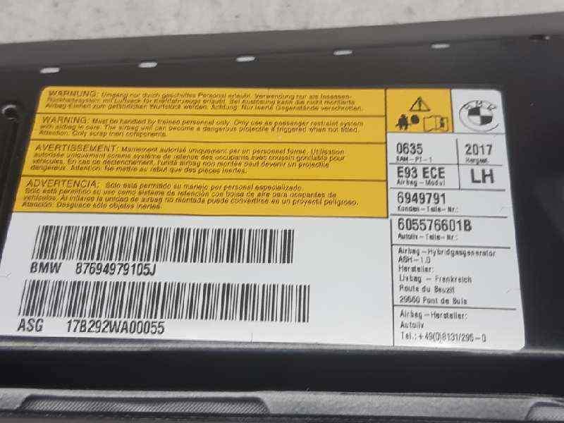 AIRBAG LATERAL IZQUIERDO BMW SERIE 3 BERLINA (E90) 330d  3.0 Turbodiesel CAT (231 CV) |   09.05 - 12.08_img_2