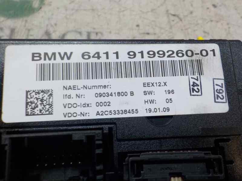 MANDO CLIMATIZADOR BMW SERIE 1 BERLINA (E81/E87) 118d  2.0 Turbodiesel CAT (143 CV)     03.07 - 12.12_img_4