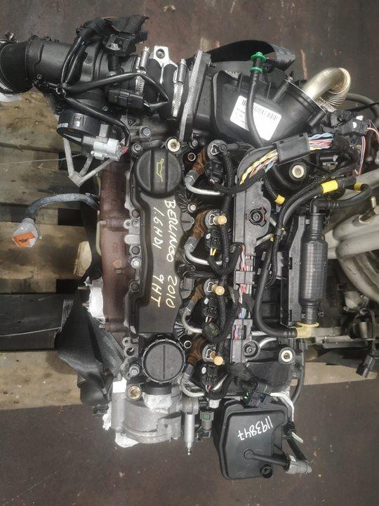 MOTOR COMPLETO CITROEN BERLINGO STATION WAGON SX Multispace  1.6 16V HDi (75 CV) |   03.08 - 12.10_img_0