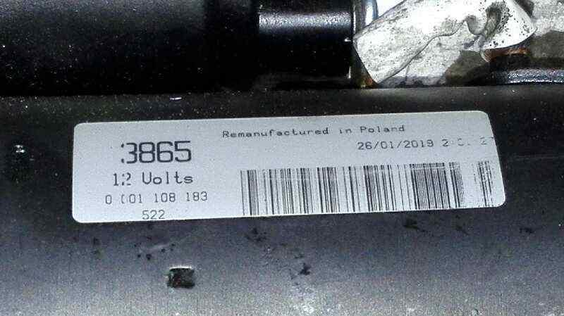 MOTOR ARRANQUE CITROEN C5 BERLINA 2.0 HDi SX   (109 CV) |   0.01 - ..._img_2
