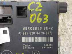 MODULO ELECTRONICO MERCEDES CLASE E (W211) BERLINA E 270 CDI (211.016)  2.7 CDI CAT (177 CV) |   01.02 - 12.05_mini_2