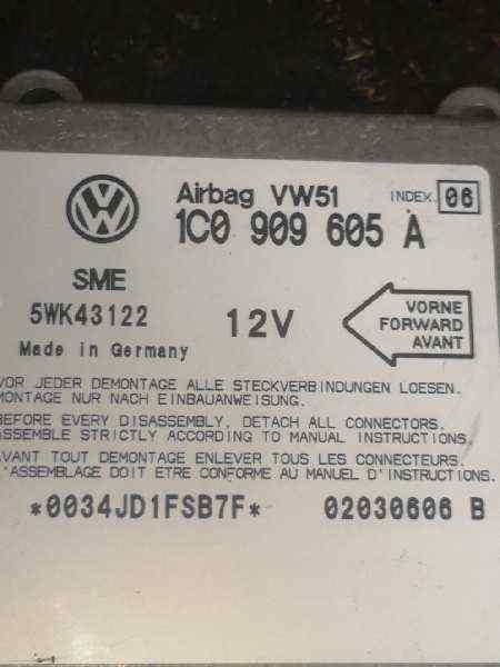 CENTRALITA AIRBAG SEAT LEON (1M1) Signo  1.6 16V (105 CV) |   11.99 - 12.04_img_1