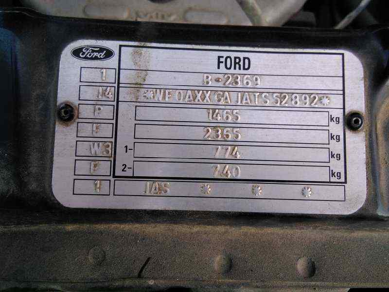 FORD FIESTA BERLINA Intro  1.3 CAT (60 CV) |   0.96 - ..._img_1