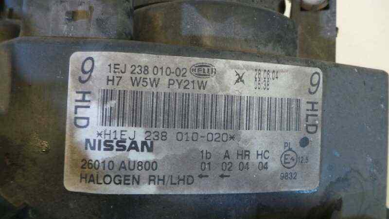 FARO DERECHO NISSAN PRIMERA BERLINA (P12) Acenta  1.9 16V Turbodiesel CAT (120 CV) |   01.03 - 12.05_img_2