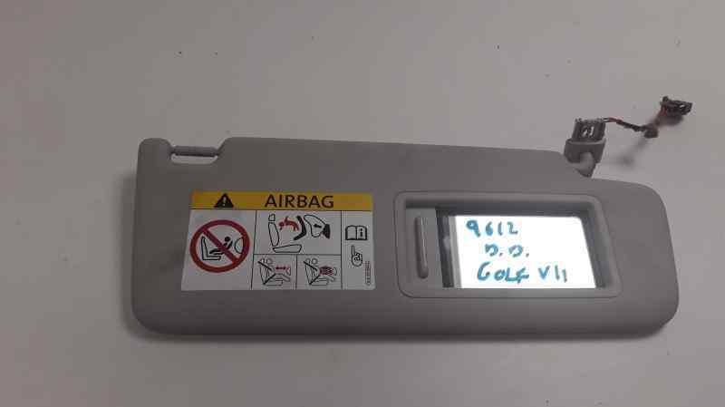 PARASOL DERECHO VOLKSWAGEN GOLF VII SPORTSVAN Advance BlueMotion Tech  1.6 16V TDI DPF (110 CV) |   05.14 - 12.15_img_1