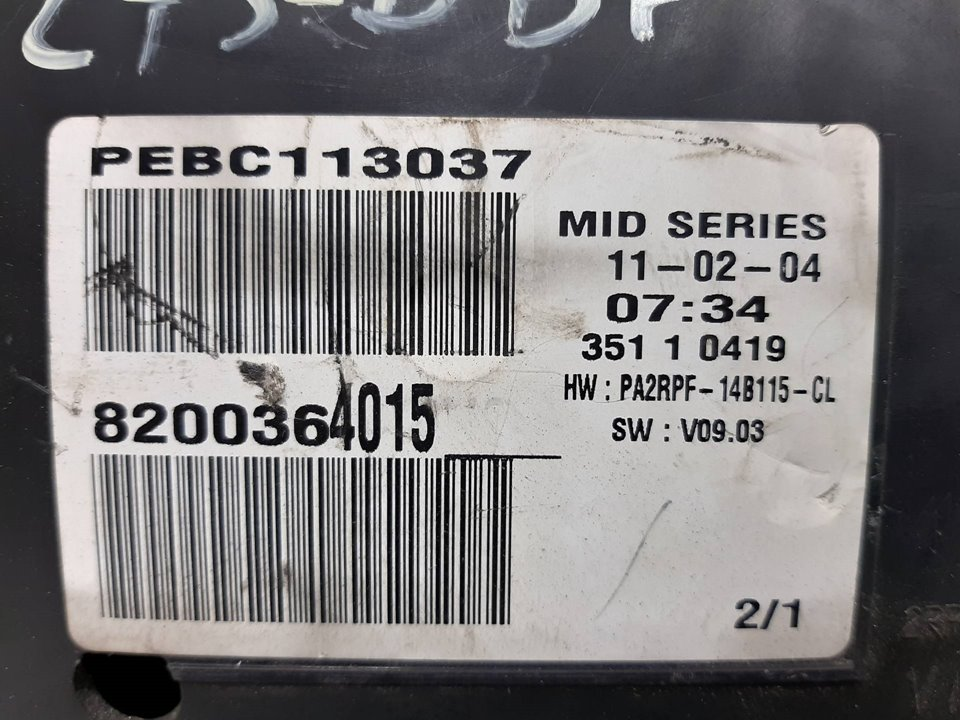 CUADRO INSTRUMENTOS RENAULT MEGANE II BERLINA 5P Confort Authentique  1.9 dCi Diesel (120 CV) |   07.02 - 12.05_img_2